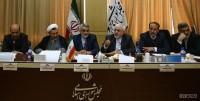 جلسه کمیسیون امنیت ملی با حضور ظریف