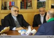 دیدار فرمانده بسیج مردمی عراق با جمعی از نمایندگان مجلس
