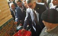 خبر تصویری :  حضور علاالدین بروجردی و سید محسن یحیوی در پای صندوق رای