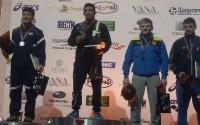 کشتی گیر بروجردی قهرمان رقابت های بین المللی جام اوکراین شد