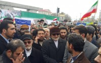 خبر تصویری: حضور رئیس کمیسیون امنیت ملى مجلس شوراى اسلامى در جشن پیروزى انقلاب