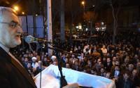 خبر تصویری : سخنرانی علاءالدین بروجردی در ستاد انتخاباتی