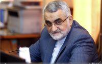بروجردی در پارلمان اروپا: ارتقاء توانمندی موشکی ایران به معنی تعرض به هیچ کشوری نیست.