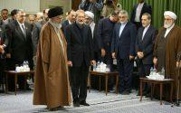 دیدار رهبر معظم انقلاب اسلامی با میهمانان سیزدهمین اجلاس بین المجالس کشورهای اسلامی