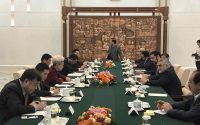 دیدار بروجردی با رییس کمیته امور خارجی کنگره ملی خلق چین