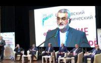 آغاز همایش بین المللی اقتصاد در شهر ساراتوف ، با سخنرانی رییس کمیسیون امنیت ملی و سیاست خارجی مجلس شورای اسلامی