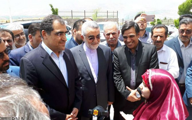 با حضور وزیر بهداشت؛ بهره برداری از نخستین بیمارستان بروجرد پس از انقلاب اسلامی
