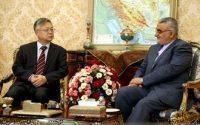 گزارش تصویری : دیدار سفیر چین در تهران با علاءالدین بروجردی