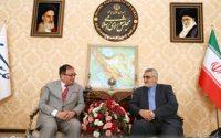 دیدار سفیر ژاپن در تهران با علاءالدین بروجردی
