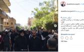 تیپ متفاوت علاءالدین بروجردی در راهپیمایی اربعین +عکس