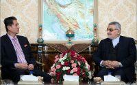 گزارش تصویری: دیدار علاء الدین بروجردی رئیس گروه دوستی پارلمانی ایران با سفیر کره شمالی