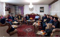 دیدار علاءالدین بروجردی با جانباز سرافراز هفتاد درصد حاج داوود نظام الاسلامی