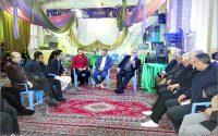 دیدار علاءالدین بروجردی با جمعی از مردم شهرستان بروجرد